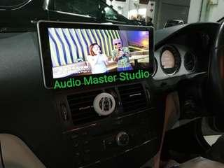 Mercedes w204 10.2 inch touch screen Android