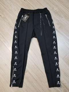 MMW TRACK PANT WITH PLEATS