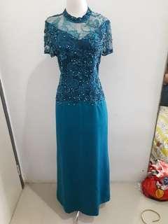 Gaun Dress Pesta Mewah
