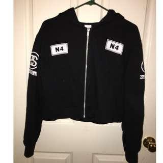 Stussy cropped jacket