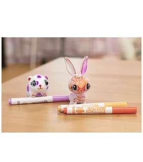 Crayola Scribble Scrubbies, Color & Wash Rabbit & Hamster