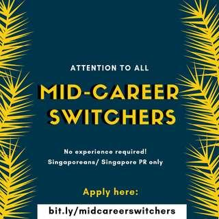 Tips for a More Seamless Mid-Career Switch