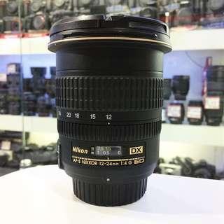 Nikon af-s 12-24mm f4