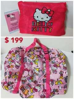 Hello Kitty 漢神巨蛋 行李袋 提包