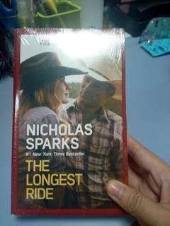 BNew Nicholas Spark The Longest Ride Book