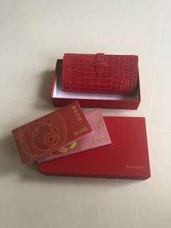 🚚 UOB Reserve Red wallet or pouch