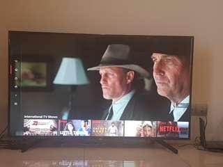 "SONY smart TV 55"" , UHD, 4K"