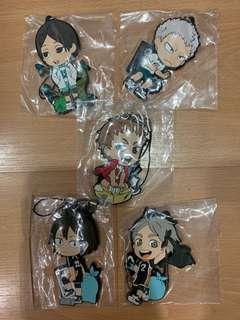 Price down:Haikyu! Character rubber strap per