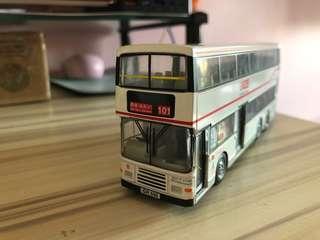模型巴士 九巴富豪奧林比安 空調巴士 路線101