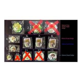 Free! Tachibana Makoto ver.Badges Per badge