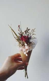 **happy mother's day** Dried/Preserved Flower Bouquet - Carnation | Happy Mother's Day