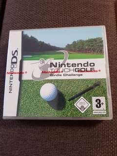 Nintendo DS touch golf birdie challenge