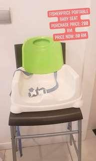 FISHER PRICE BABY portable chair
