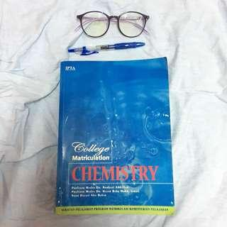 College Matriculation Chemistry