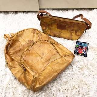 Backpack and handbag alviero martini