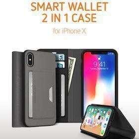 SMART WALLET 2 in 1 Case iPhone X