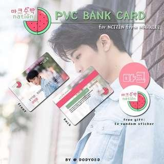[WTS/SURVEY] NCT 마크수박🍉nation PVC BANK CARD
