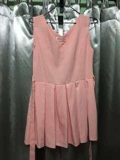 Pink Dress 日本背心連身裙