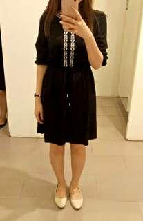 Long sleeve black dress from Brand's Outlet