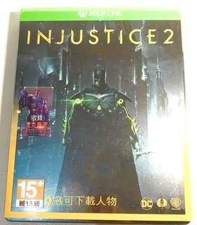 Injustice 2 Xbox One Game - Metal box edition