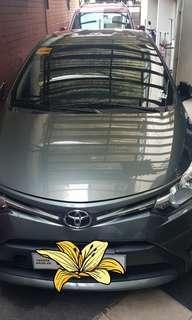 2017 Toyota Vios E Grab