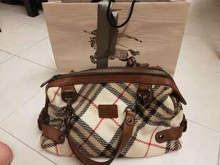 Burberry Bluelabel Shoulder and Hand carry Bag
