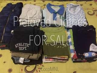 Preloved Branded Clothes for Baby Boy
