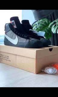 Nike Blazer Off White Black