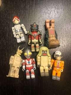 咸蛋超人Ultraman BANDAI 膠公仔