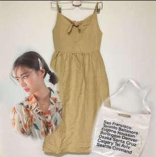 BNWOT✨ TEM dress with FREE pearl hair clip & AA sling bag
