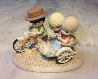 Precious Moments Figurine - Love is our Map to Happiness