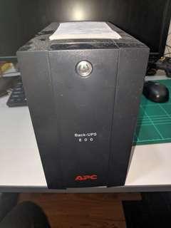 #ME150 APC Back UPS 800