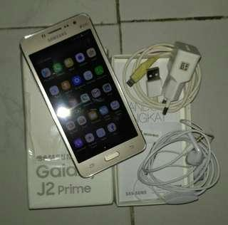 Samsung J2 Prime gold 4G ada minus