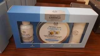 The body shop camomile cleansing butter, make up remover the body shop