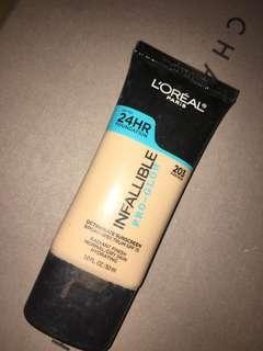 Loreal Infallible Pro Glow Foundation no 203