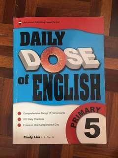 English grammar revision book