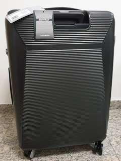 """🚚 Brand new Samsonite 25"""" Enwrap Spinner 68/25 Exp Spinner Luggage Waterproof Matte Black"""
