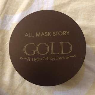 All Mask Story Gold Hydro Gel Eye Patch