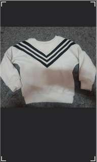 BW sweater , long sleeve top