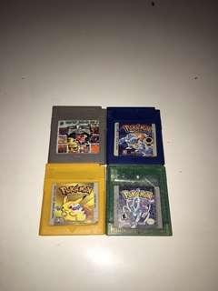 Gameboy Cartridges