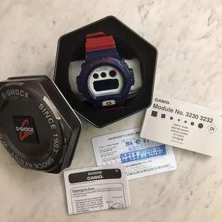 🚚 CASIO G-SHOCK 2013 BLUE AND RED SERIES系列DW-6900AC-2DR