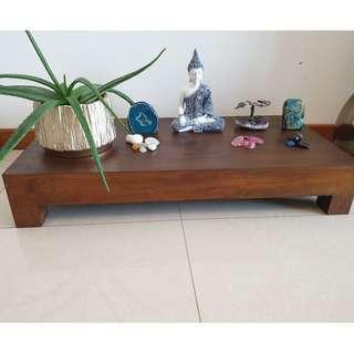 John Erdos Table (teak) (100 cm l x 50 cm b x 17 cm h)