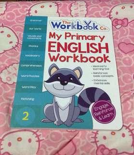My Primary English Workbook for Kids