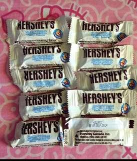 Hershey's Cookies and Cream Fun Size by 10's
