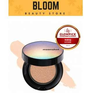 MOONSHOT MICRO SETTINGFIT Cushion (SPF50+PA+++)12g #101 #201 #301 (3 Shades Available)