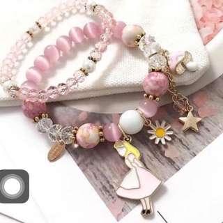 韓國製🇰🇷愛麗絲 愛麗絲夢遊仙境 愛麗絲手環 手環
