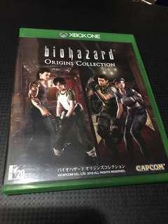 XboxOne Biohazard Origins Collection 日版