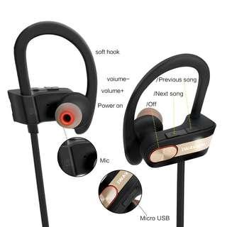 Easy to Operate !! BT4.1 Stereo Noise Cancelling Earbuds