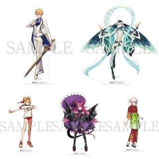 [CLOSED] Fate/Grand Order Animejapan 2019 Acrylic stands