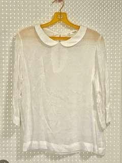 Mango Casual White Top